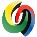 Desktop, google Black icon