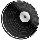 vinyl DarkSlateGray icon