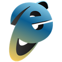 Iexplorer Black icon