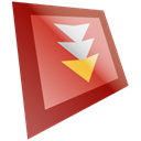 Flashget IndianRed icon