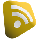 Rss, feed, subscribe DarkGoldenrod icon