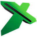 Excel ForestGreen icon
