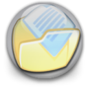 Orb, my document PaleGoldenrod icon