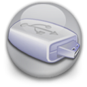 usbextmemory DarkGray icon