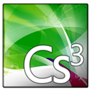 Cs, Text, adobe, File, document ForestGreen icon