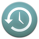 history, Shaped, machine, time CadetBlue icon