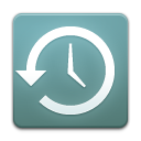 history, time, machine CadetBlue icon