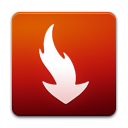 download, Decrease, speed, fall, descending, Down, Descend Firebrick icon