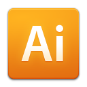 illustrator Orange icon