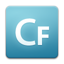 Coldfusion SkyBlue icon