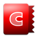 Shaped, Candybar Black icon