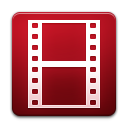 encoder, Flash, video Firebrick icon
