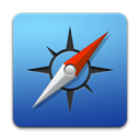 Browser, safari, Apple SteelBlue icon