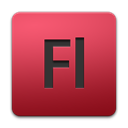 Flash, adobe IndianRed icon