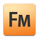 Framemaker, adobe Black icon