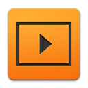 media, adobe, player DarkOrange icon
