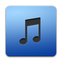 Apple, itunes SteelBlue icon