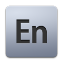 adobe, Encore Black icon