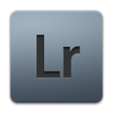 lightroom, adobe DarkGray icon