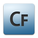 Coldfusion, adobe SteelBlue icon