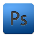 photoshop, Ps, adobe CornflowerBlue icon
