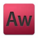 Authorware, adobe IndianRed icon