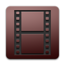 adobe, encoder, media Black icon