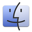 Finder, Apple Black icon