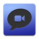 Apple, ichat Black icon