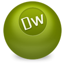 dreamweaver Olive icon