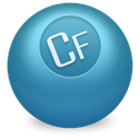 Coldfusion SteelBlue icon