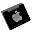 Folder, Apple Black icon