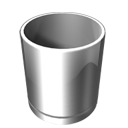 recycle, Empty, Blank Gray icon