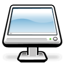 monitor, Display, screen, Computer Black icon