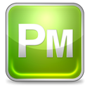 pagemaker YellowGreen icon