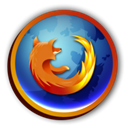 Firefox, Browser Black icon