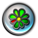 icq Black icon