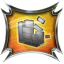 Defrag Black icon
