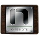 One, Note DarkSlateGray icon