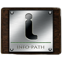 Info, path, Information, about DarkSlateGray icon