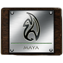 Maya DarkSlateGray icon
