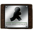 Messenger, Aim Black icon