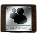 Messenger, window, Live DarkSlateGray icon