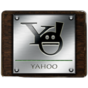 Messenger, yahoo Black icon