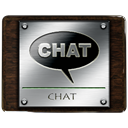 Chat, speak, talk, Comment Black icon