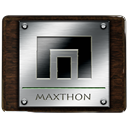 maxthon DarkSlateGray icon