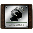 webmoney Black icon
