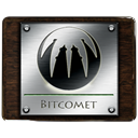 Bitcomet DarkSlateGray icon