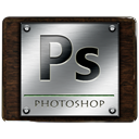 Ps, photoshop DarkSlateGray icon
