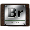 bridge, adobe DarkSlateGray icon